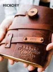 Gift Ideas for Wife - Personalized Leather Journal
