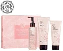 Gift Ideas for Wife - Rice Water Face Wash Set