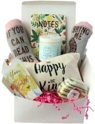 Gift Ideas for Wife - Special Birthday Gift Basket Box For Her