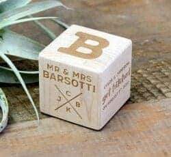 Gift Ideas for Wife - Wood Block