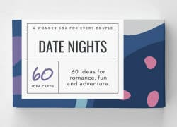 anniversary gifts for girlfriend - date night ideas
