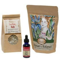 anniversary gifts for girlfriend - herbal gift set