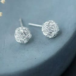 anniversary gifts for girlfriend - sterling silver stud