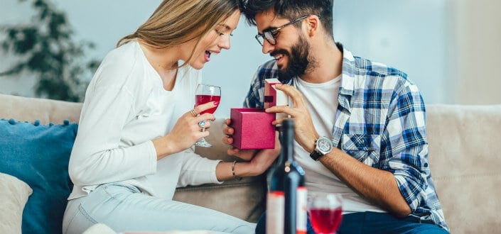 romantic gifts for wife - best