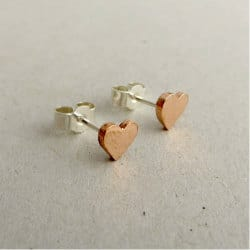 romantic gifts for wife - copper heart