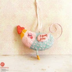 romantic gifts for wife - love bird ornament