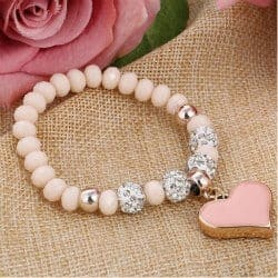 romantic gifts for wife - love bracelet