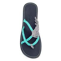 romantic gifts for wife - plaka flip flops