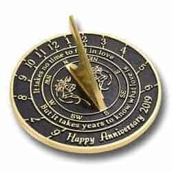 romantic gifts for wife - sundial