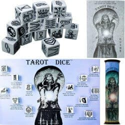 romantic gifts for wife - tarot dice