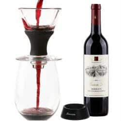 romantic gifts for wife - wine aerator