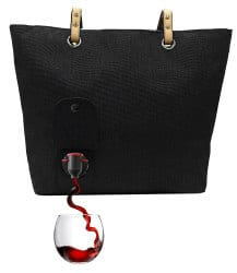 romantic gifts for wife - wine tote