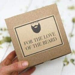 cool gifts for dad - Beard Kit