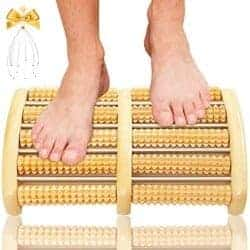 Cheap Gifts For Dad - Dual Foot Massager Roller