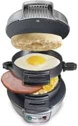 cool gifts for dad - Hamilton Beach 25475A Breakfast Sandwich Maker