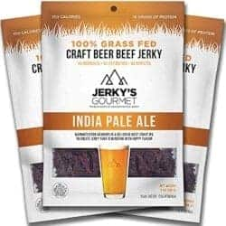 Cheap Gifts For Dad - IPA Craft Beer Grass Fed Beef Jerky