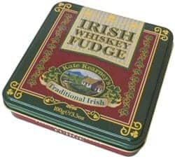 cool gifts for dad - Irish Whiskey Fudge In Tin