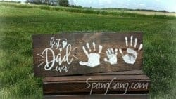 Cheap Gifts For Dad - Personalized Wood Pallet Sign