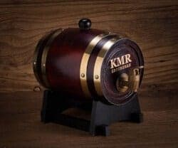 cool gifts for dad - Personalized Wooden Whiskey Barrel