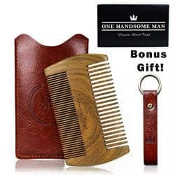 Gifts For Dad Who Has Everything - beard comb kit