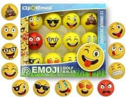 Gifts For Dad Who Has Everything -emoji golf balls