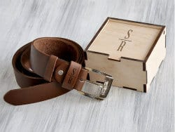 Gifts For Dad Who Has Everything -leather belt
