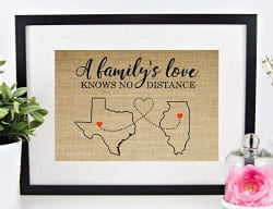 Gifts For Dad Who Has Everything -personalized map