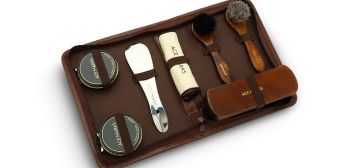a primer dress shoes - shoe care kit