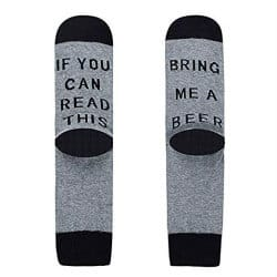 birthday gifts for dad - 30. novelty socks
