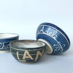 Custom Made Ceramic Bowl with Name