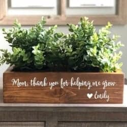 Custom Wood Planter Box