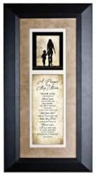 Gifts for Mom - A Prayer For My Mom Wood Wall Art Frame Plaque