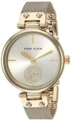 Gifts for Mom - Anne Klein Women's Swarovski Crystal Accented Bracelet Watch