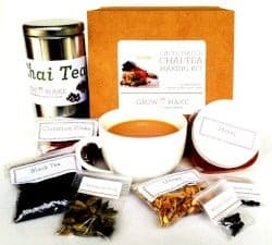 Gifts for Mom - Artisan DIY Chai Tea Making Kit