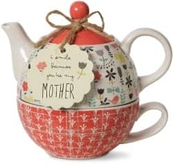 Gifts for Mom - Bloom Mother Ceramic Tea For One