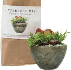 Gifts for Mom - D.I.Y. Hypertufa Planter Kit