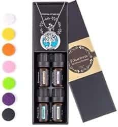 Gifts for Mom - Essential Oil Necklace Gift Set