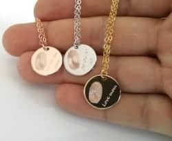 Gifts for Mom - Fingerprint Necklace