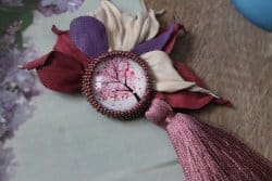 Gifts for Mom - Floral Brooch