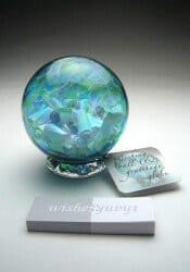 Gifts for Mom - Handblown Wishing And Gratitude Globe