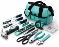 Gifts for Mom - Her Hardware Home Repair Basic Tool Set