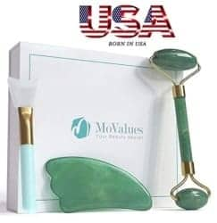 Gifts for Mom - Original Jade Roller And Gua Sha Tools Set