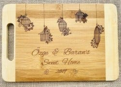 Gifts for Mom - Personalized Bamboo Cutting Board