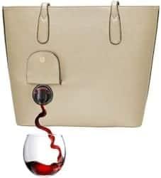 Gifts for Mom - PortoVino Classic Wine Purse