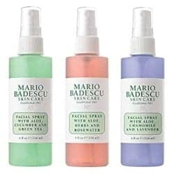 Mario Badescu Spritz Mist and Glow Facial Spray Collection