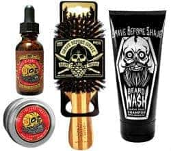 Unique Gifts for Dad - beard gift pack