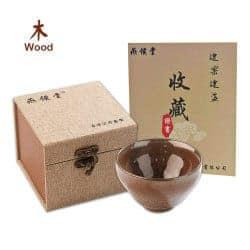 Unique Gifts for Dad - tenmoku tea cup