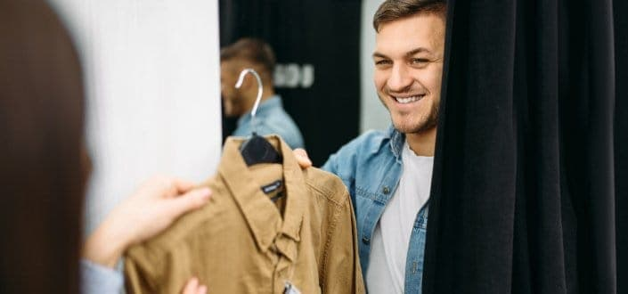 Dressing For Success Studies - Men on Buying Clothes
