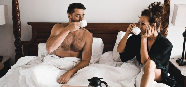 signs she is secretly attracted to you - (Almost) Open Book