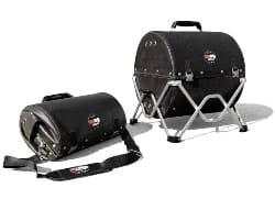 best charcoal grill - GoBQ Portable Charcoal Grill